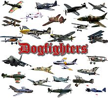 Dogfighters Custom Printed Calendar by Mil Merchant