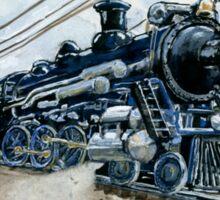 Vintage Locomotive Sticker