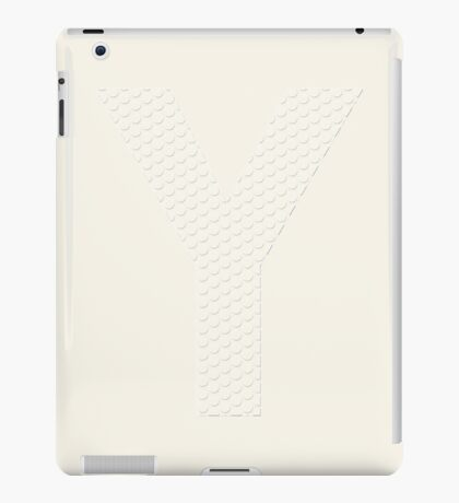 Put the right amount of pressure on it iPad Case/Skin