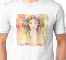"""Gardener Girl"" from the series ""Gaya"" Unisex T-Shirt"