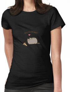 Love Pusheen Womens Fitted T-Shirt