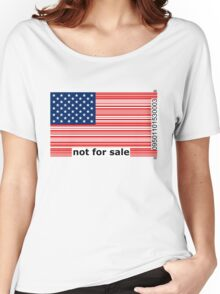 America -  Not For Sale Women's Relaxed Fit T-Shirt