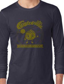 The Original CASTROVILLE ARTICHOKE FESTIVAL - Dustin's shirt in Stranger Things Long Sleeve T-Shirt