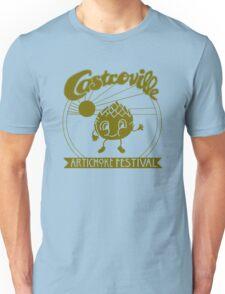 The Original CASTROVILLE ARTICHOKE FESTIVAL - Dustin's shirt in Stranger Things Unisex T-Shirt