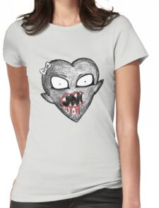 Hungry Heart Womens Fitted T-Shirt