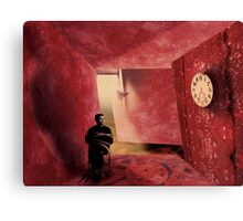 Quiet Time: At 10:20 we will take the restrains off  Canvas Print