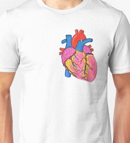 Anatomically correct heart Unisex T-Shirt