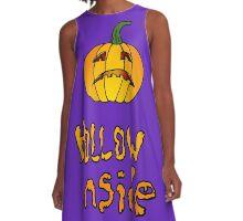 Hollow Inside A-Line Dress