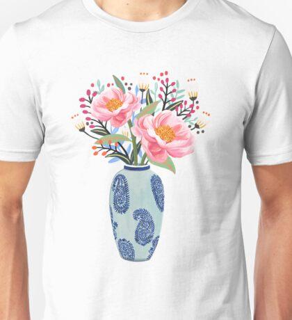 Vase Illustration Unisex T-Shirt