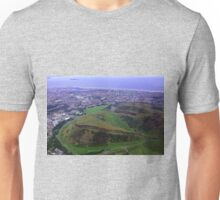 Arthur's Seat and Salisbury Crags Unisex T-Shirt