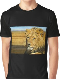 Big five: Lion Graphic T-Shirt