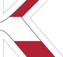 stripes kappa Sticker