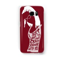 Crazy science Samsung Galaxy Case/Skin