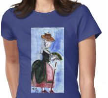 Roccoco Lady Womens Fitted T-Shirt