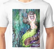 Body posi mermaid! Unisex T-Shirt