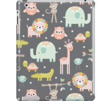Cute Animal Party iPad Case/Skin