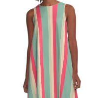 Sweet spring color design by MrN A-Line Dress