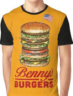 Original Benny's Burgers Stranger Things Eleven Cosplay Shirt Graphic T-Shirt