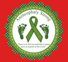 Anencephaly Strong - No foot too small One Piece - Long Sleeve