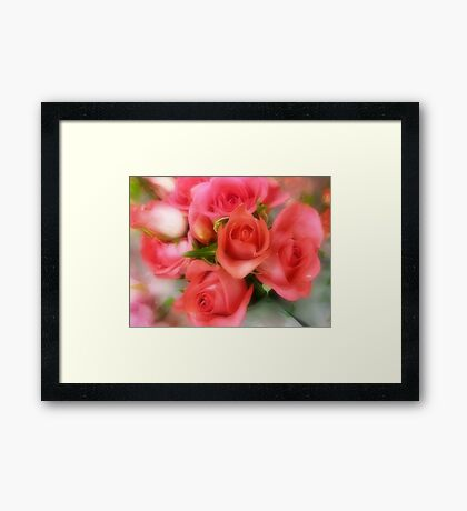 Bouquet in Plaza Shopping Centre Framed Print