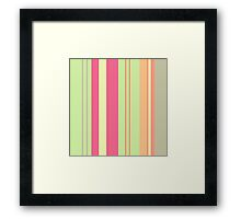 """Summer Girl"" color design by MrN Framed Print"