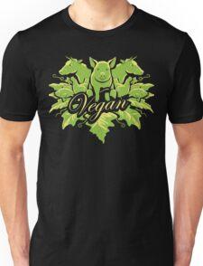 Go vegan for life Unisex T-Shirt