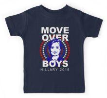 Hillary Clinton Move Over Boys Kids Tee