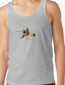 Jousting Knight Tank Top