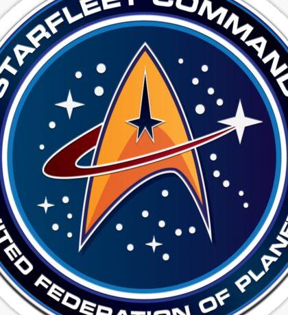 Star Trek Starfleet Command Sticker