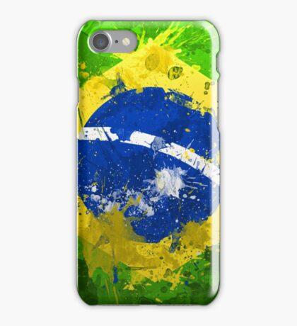 Brasil Flag iPhone Case/Skin