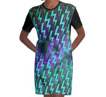 electric storm 3 Graphic T-Shirt Dress