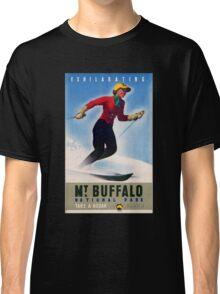 Australia Mt. Buffalo Vintage Travel Poster Classic T-Shirt