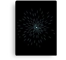 Hyperspace Canvas Print