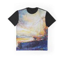 Blennerville wind Mill Graphic T-Shirt