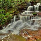 Somersby Falls .. Misty Flow by Michael Matthews