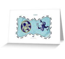 Scorpio greetings Greeting Card
