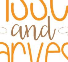 Sunflower Kisses & Harvest Wishes Sticker