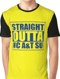 Straight Outta North Carolina A&T SU Graphic T-Shirt