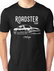 Roadster team. Mazda MX5 Miata (NB) Unisex T-Shirt