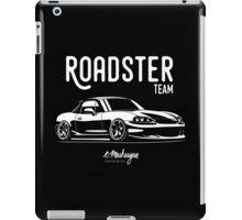Roadster team. Mazda MX5 Miata (NB) iPad Case/Skin