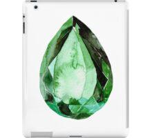 Emerald Stone in Watercolor iPad Case/Skin
