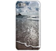 Footprints Washed Away.. iPhone Case/Skin