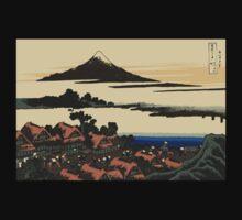 Katsushika, Hokusai, Thirty-six Views of Mount Fuji, no. 43, 7th additional woodcut.  One Piece - Long Sleeve