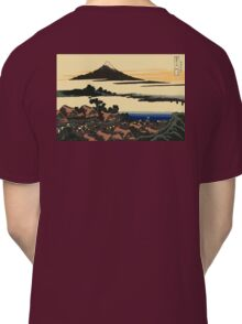 Katsushika, Hokusai, Thirty-six Views of Mount Fuji, no. 43, 7th additional woodcut.  Classic T-Shirt