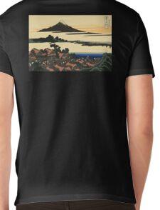 Katsushika, Hokusai, Thirty-six Views of Mount Fuji, no. 43, 7th additional woodcut.  Mens V-Neck T-Shirt