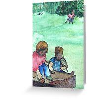 Wildago's Sandbox Kids Greeting Card