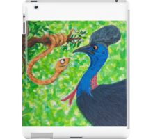 Edgar Taipan meets Cassowary iPad Case/Skin