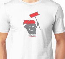 Shoveling Wis-Kid (red) Unisex T-Shirt