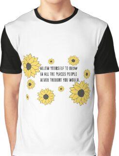 Grow Inspiration Graphic T-Shirt