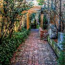 Cobblestone Alley, Upper Montclair, NJ by Jane Neill-Hancock